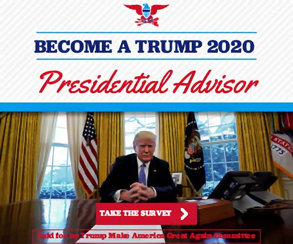 BECOME A TRUMP 2020 Presidential Advisor