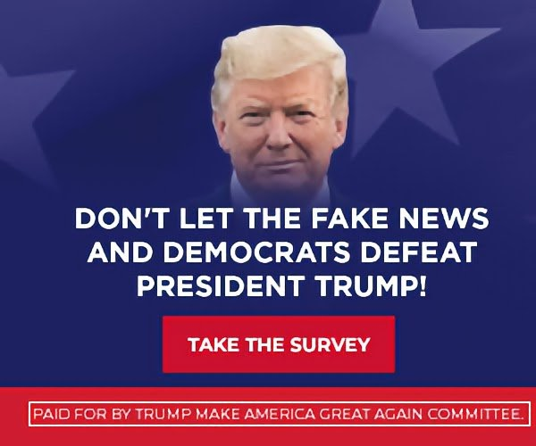 Don't LET THE FAKE NEWS AND DEMOCRATS DEFEAT PRESIDENT TRUMP