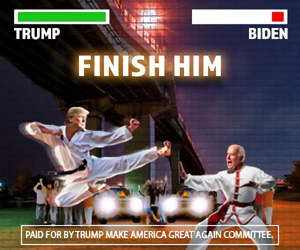 Finish Him Trump Vs Biden