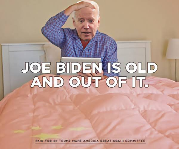 Joe Biden is old and out of it