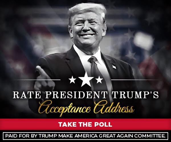 RATE PRESIDENT TRUMP'S ACCEPTANCE ADDRESS