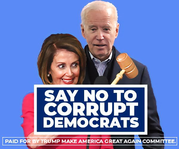 SAY NO TO CORRUPT DEMOCRATS