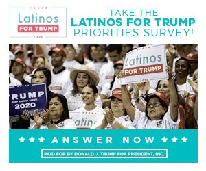 Take the latinos FOR TRUMP PRIORITIES SURVEY