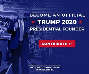 Become An Official Trump 2020 Presidential Founder