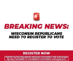 Breaking news wisconsin republicans need to register to vote