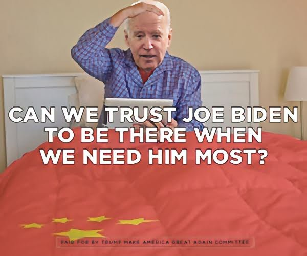 can we trust joe biden to be there when we need him most