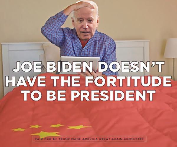 Joe Biden doesn't have the fortitude to be president