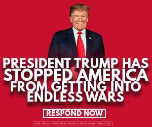 president trump has stopped america from getting into endless wars