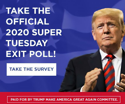 Take The Official 2020 Super Tuesday Exit Poll