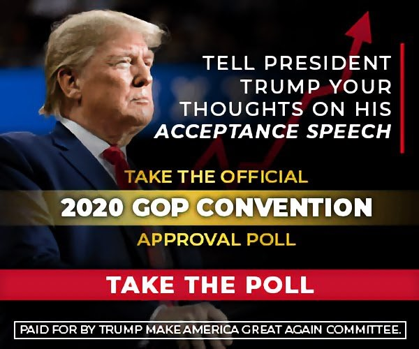 tell president trump your thoughts on his acceptance speech