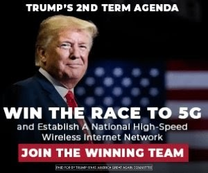 Trump's 2nd term agenda win the race to 5G and establish a national high-speed wireless internet network