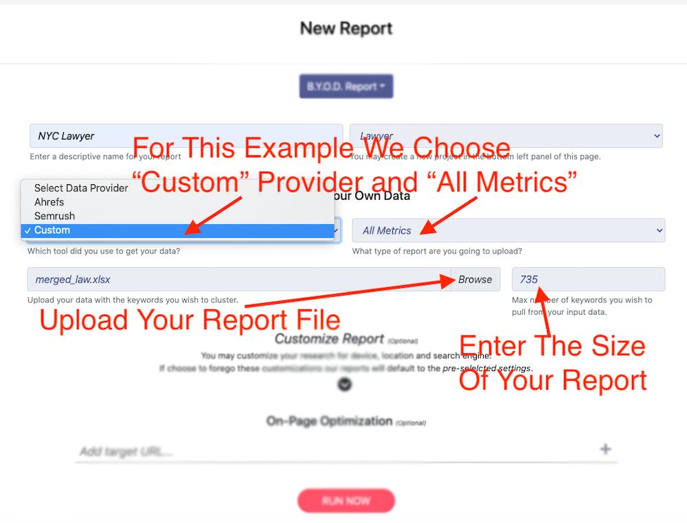Fill Report Form