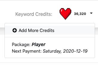 Buy Extra Keywords